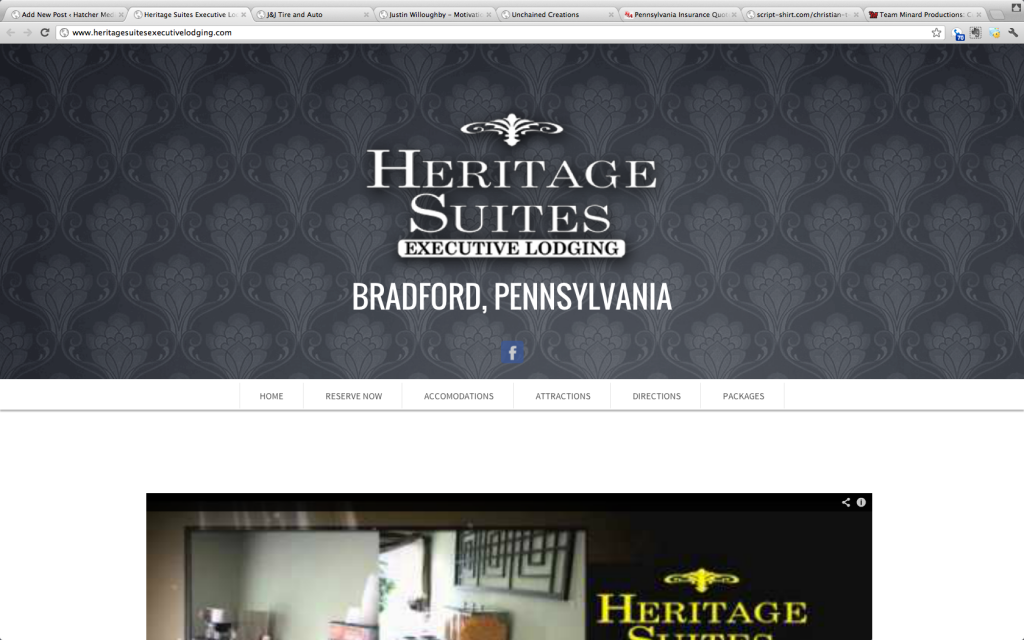 Heritage Suites Executive Lodging - Bradford Pennsylvania