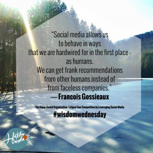 Creative Marketing with Hatcher Media presents #wisdomwednesday